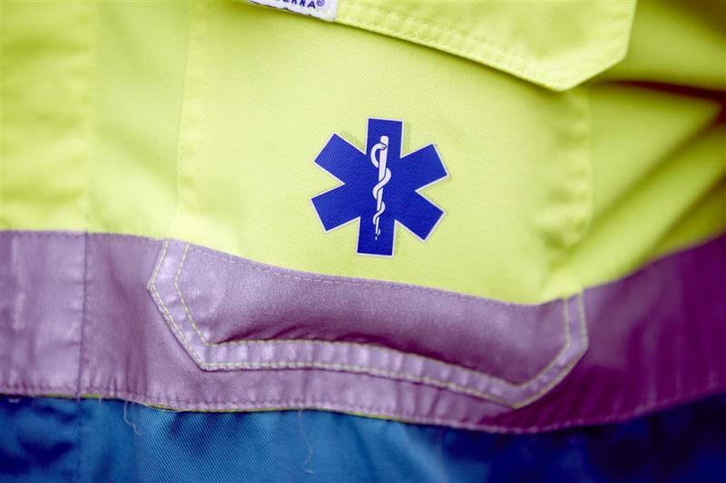 Korte staking ambulancepersoneel Rotterdam