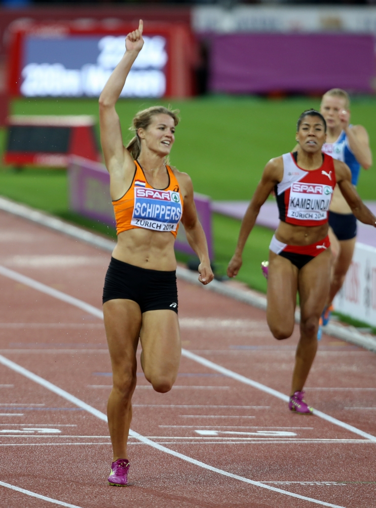 Schippers gaat na Europees goud ook voor een mondiale sprinttitel (PRO SHOTS/GEPA)