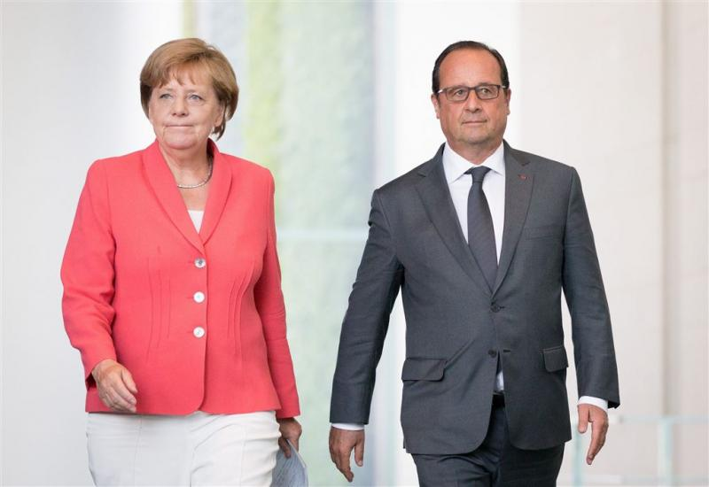 Merkel en Hollande hebben vertrouwen in China
