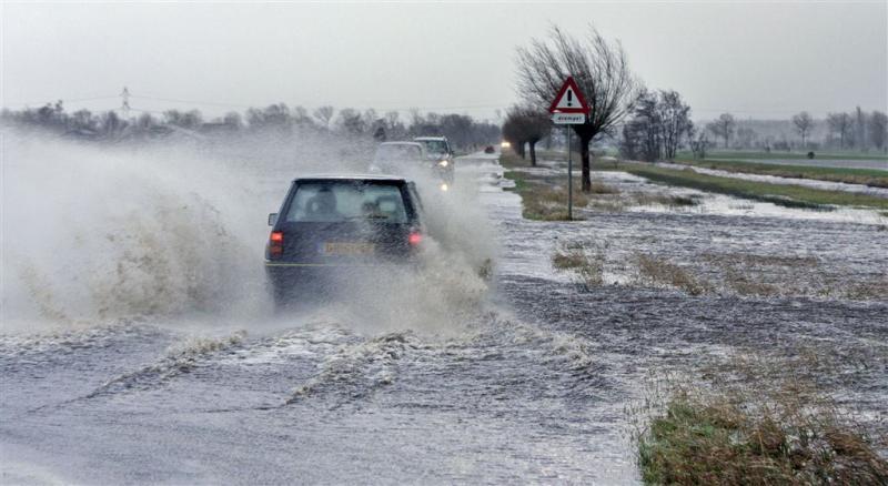 Windhoos in Noord-Holland