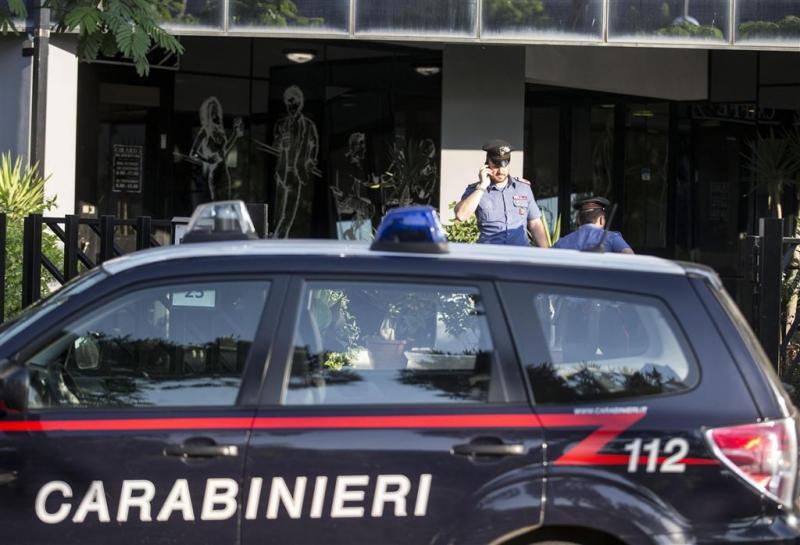 Boze migranten de straat op in Milaan