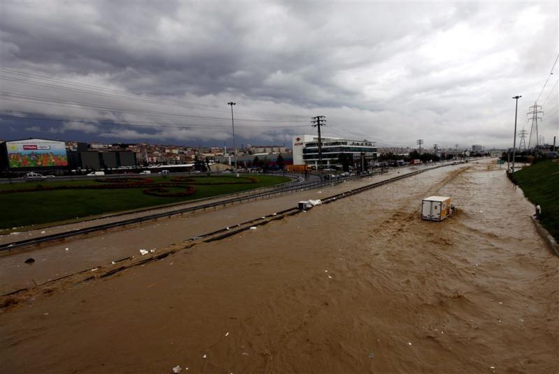 Doden door overstromingen Turkije