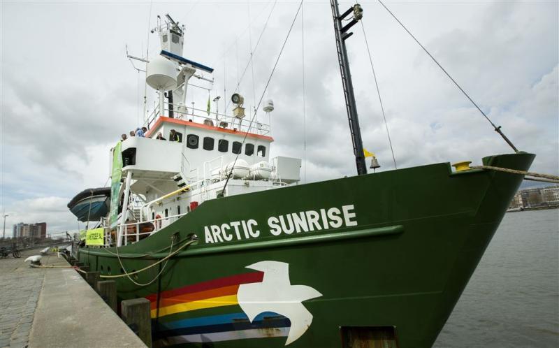 Rusland erkent uitspraak over Greenpeace niet