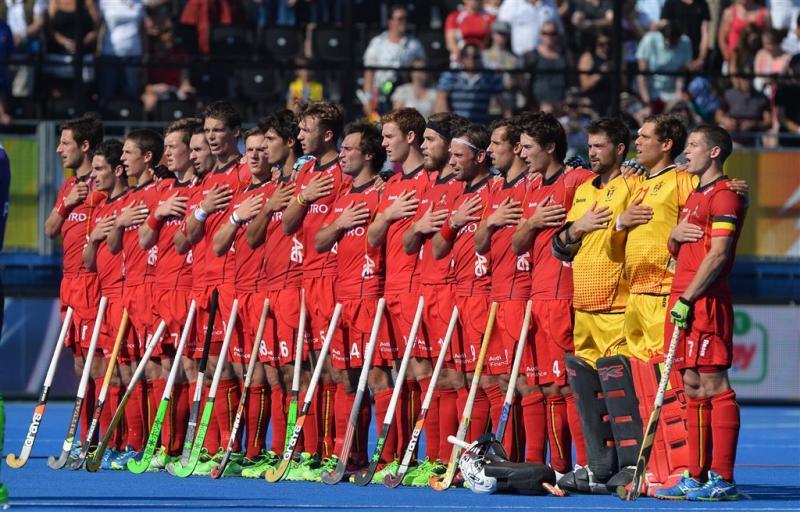 Belgische hockeyers uitgeschakeld op EK