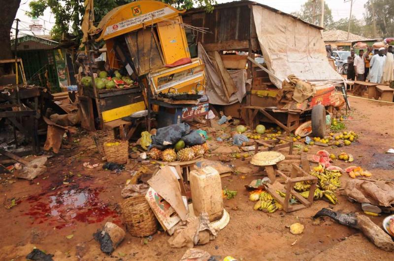 Doden door tienerterrorist Nigeria