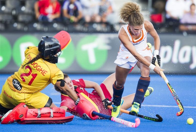 Hockeysters rollen ook België op