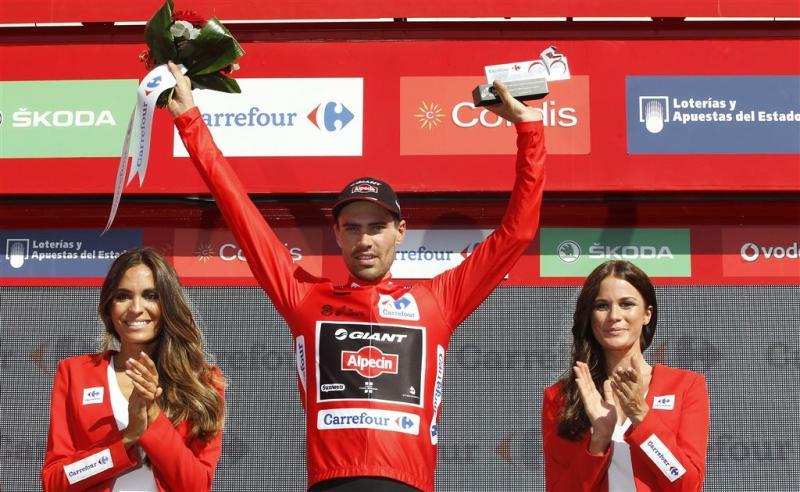 Dumoulin verrast door leiderstrui Vuelta