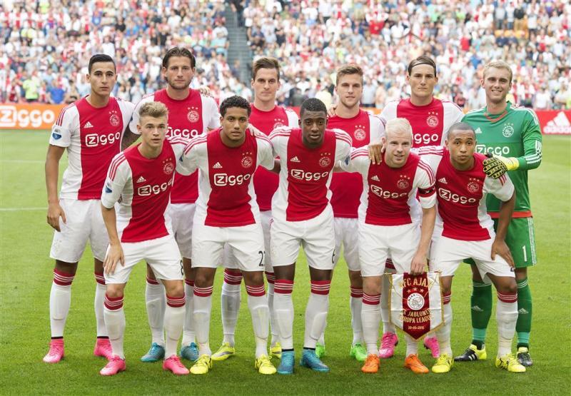 Ajax met zelfde elf tegen Jablonec