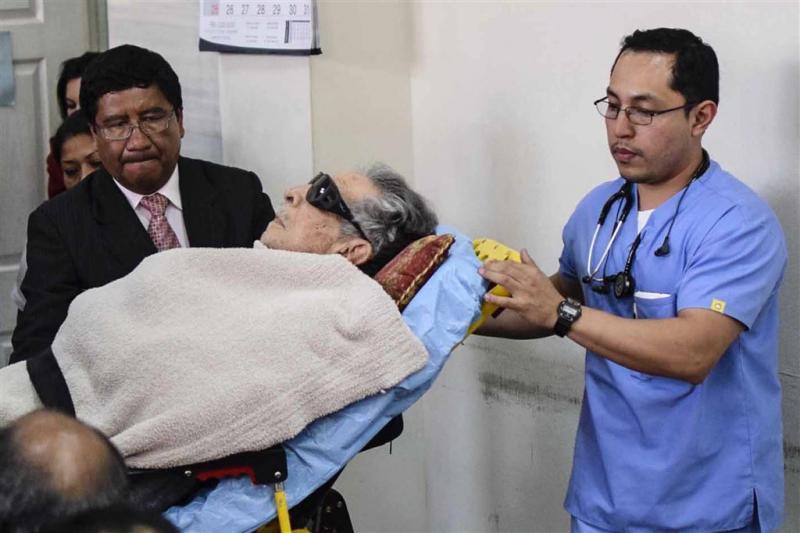 Ex-dictator Montt krijgt 'speciaal proces'