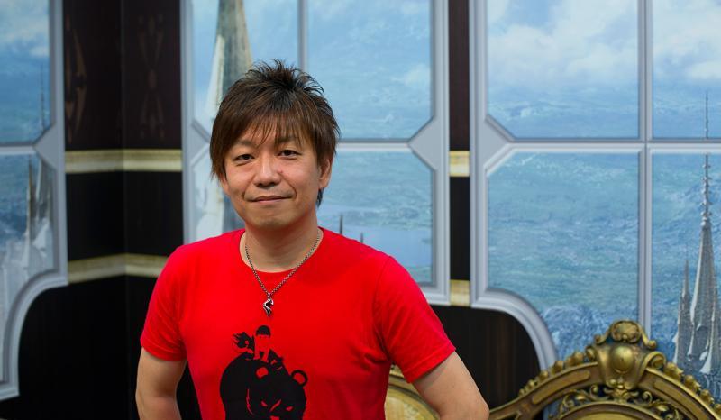 Yoshida op gamescom (Foto: Pheno)