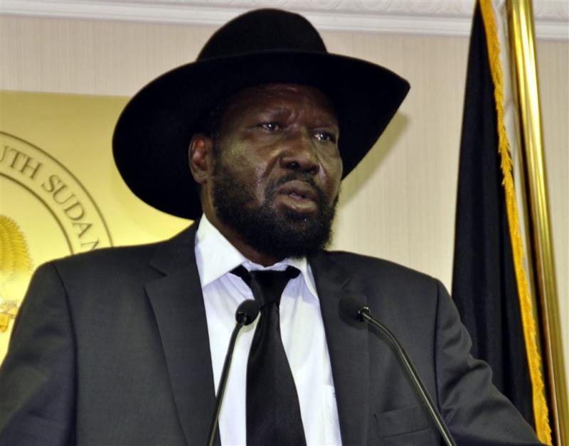 President Zuid-Sudan tekent vredesakkoord