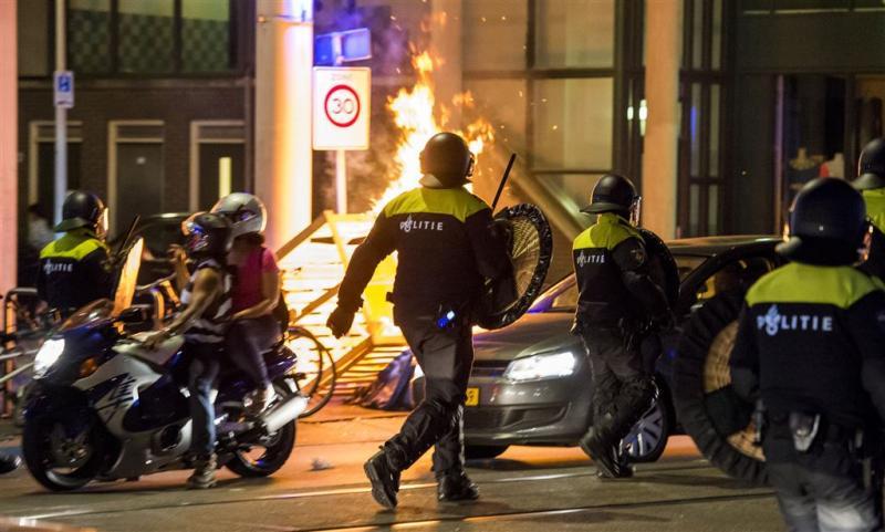 Laatste foto's relschoppers Schilderswijk