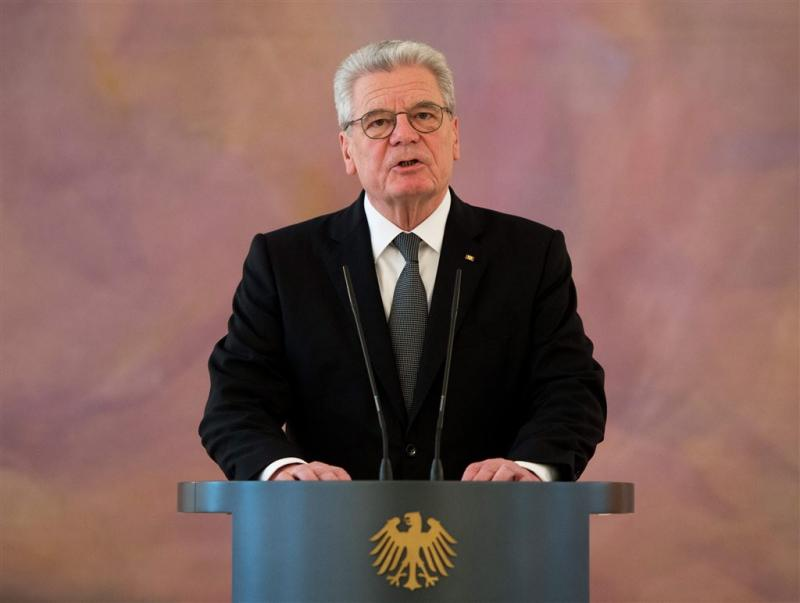 Gauck prijst 'lichtend Duitsland'