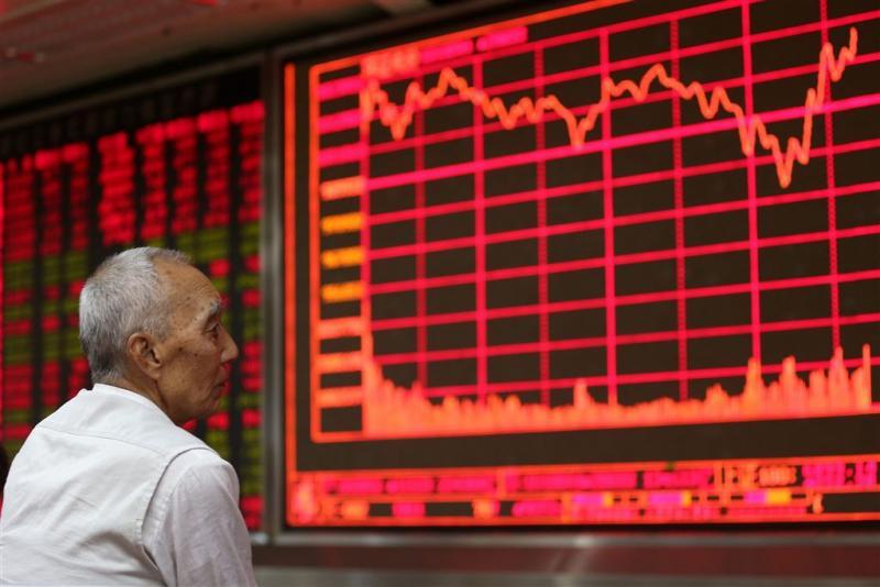 'China greep in op aandelenmarkt'
