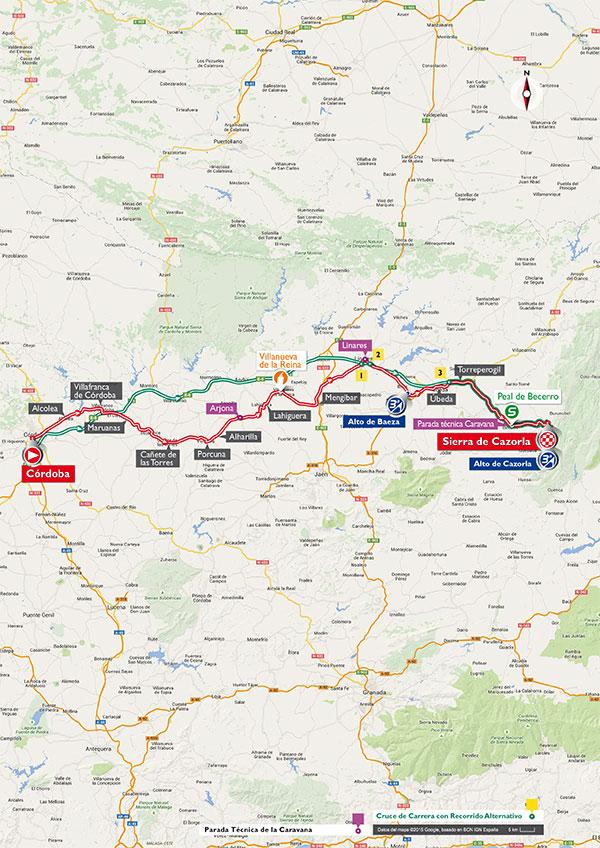 Route etappe 6 (Afbeelding: letour.fr)
