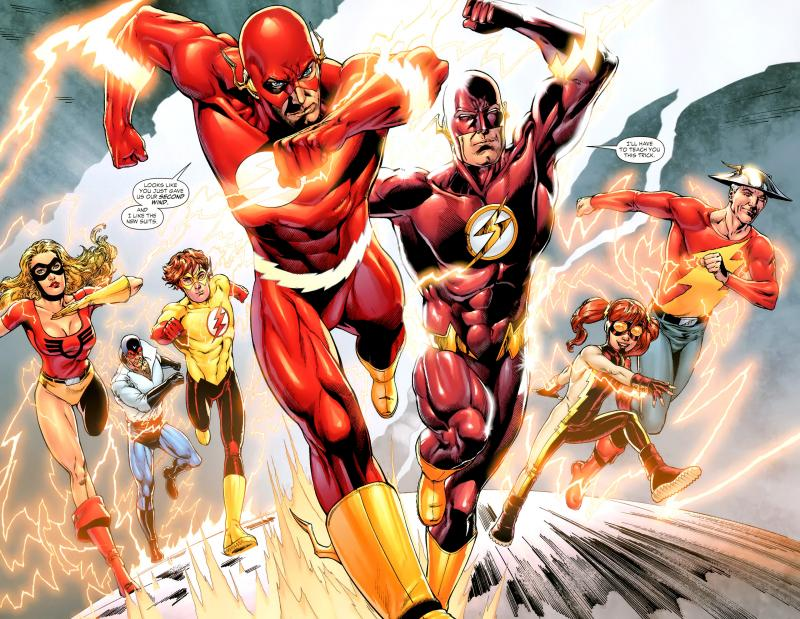 The Flash: familie van speedsters