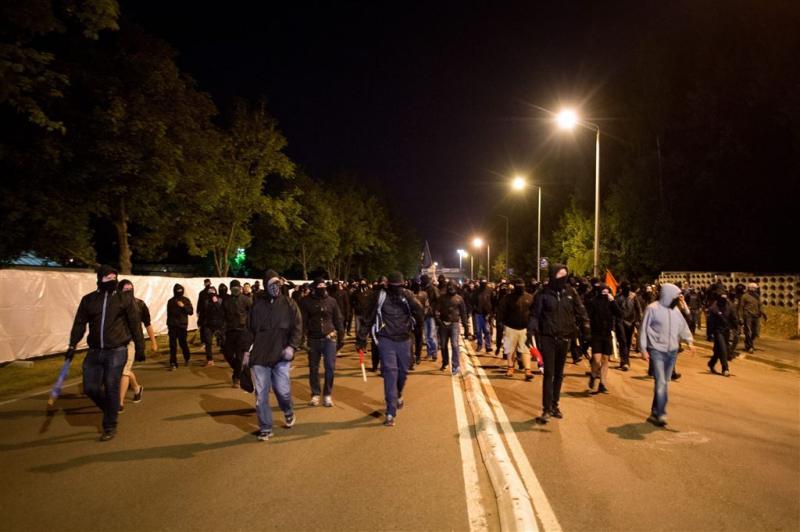 Heidenau weer rustig na ingrijpen politie
