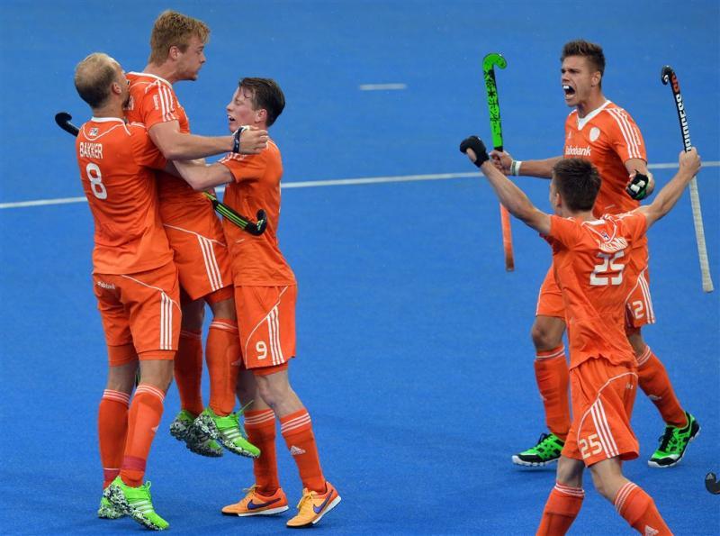 Hockeyers vernederen Duitsland in EK-finale