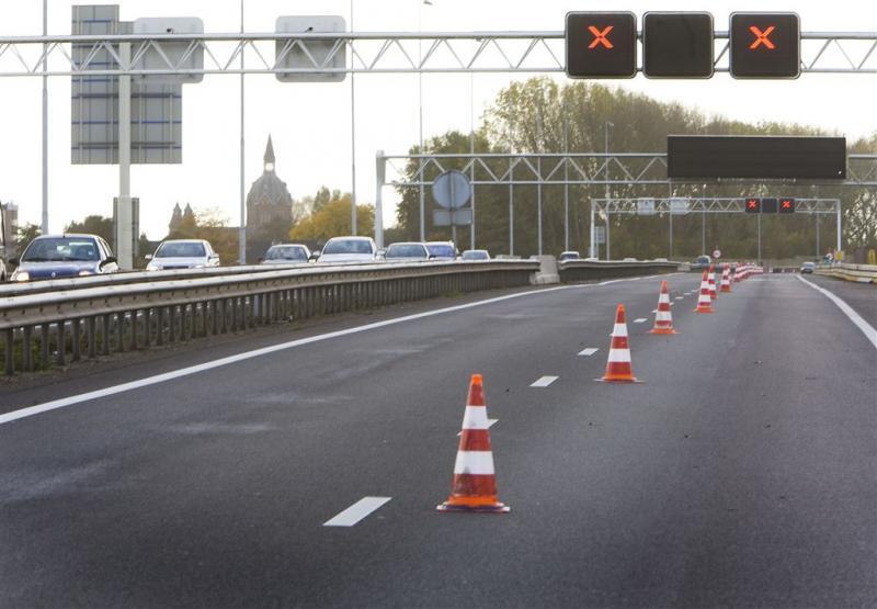 Klein deel Franse A1 tot zondag geblokkeerd