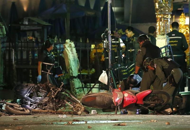 Verdachte bomaanslag Bangkok aangehouden