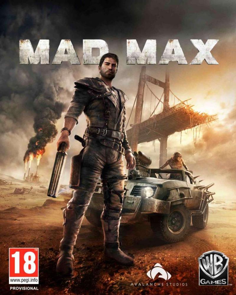 Mad Max-packshot