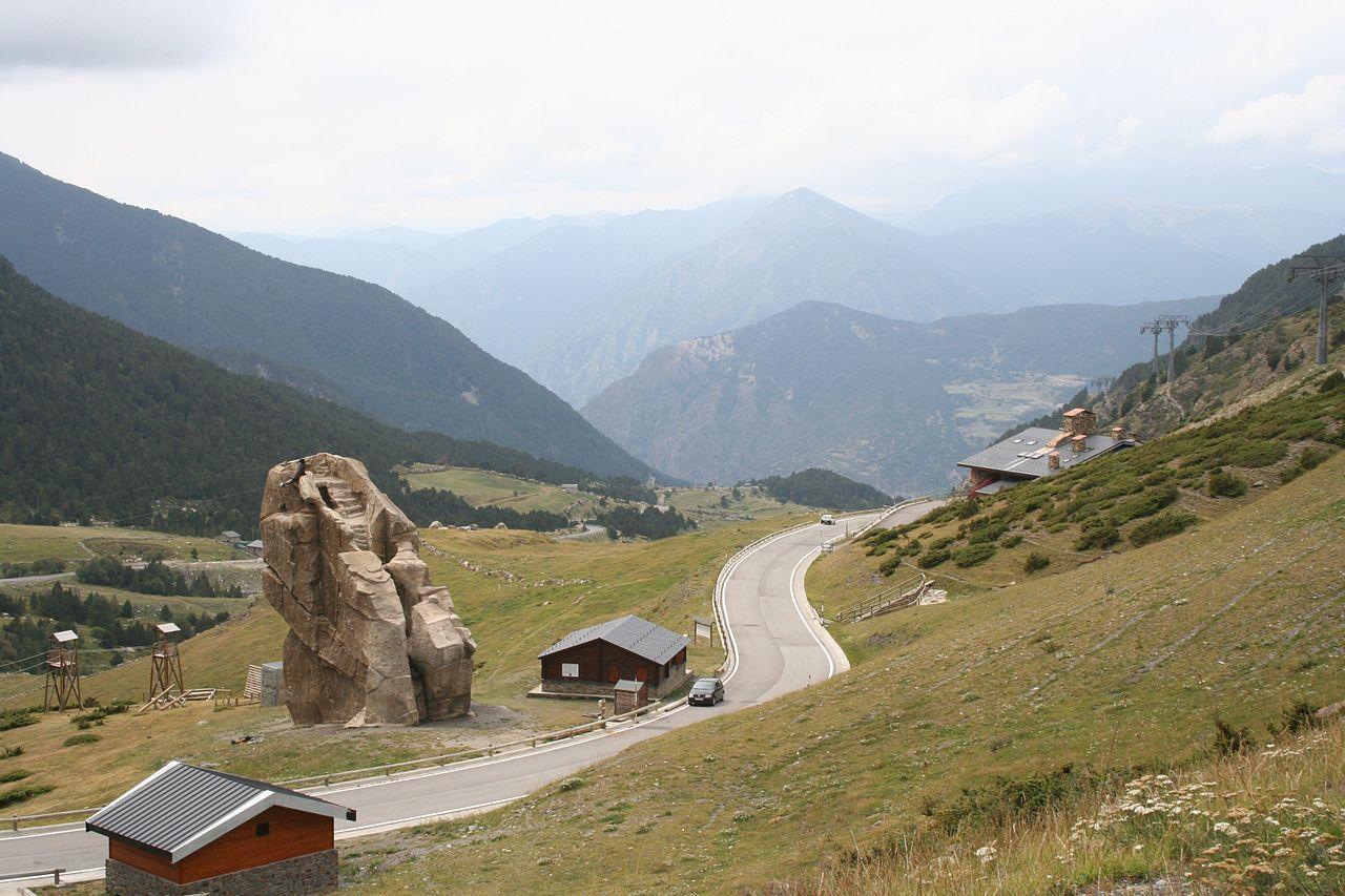 De klim is voor een groot deel rechtdoor (Foto: WikiCommons)