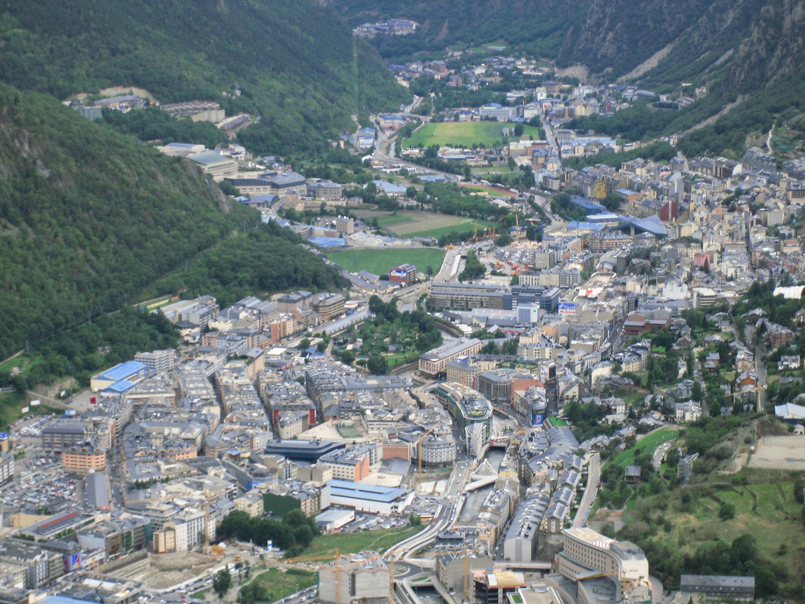 Andorra la Vella, het startpunt van de etappe (Foto: WikiCommons)