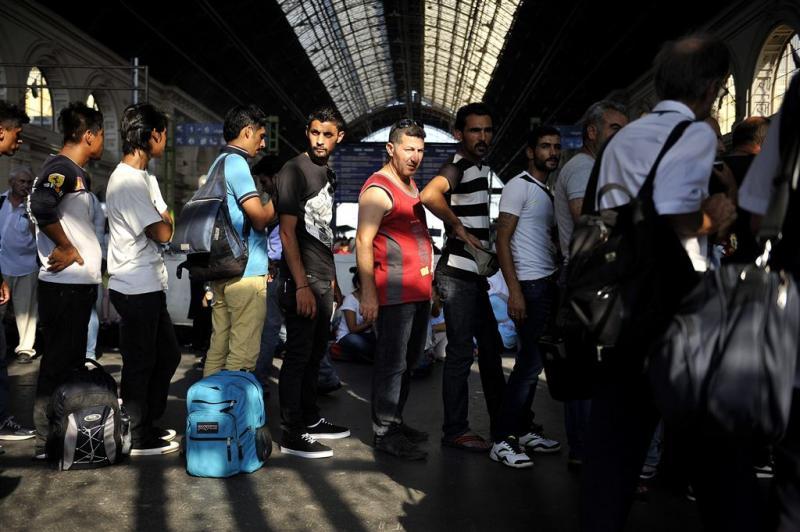 Honderden vluchtelingen aangekomen in München