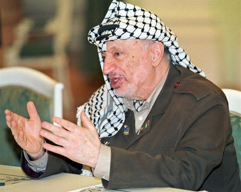 Frans onderzoek dood Arafat gestopt