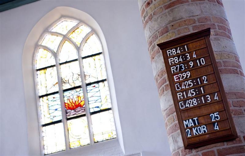 'Ruimte in kerken voor opvang vluchtelingen'