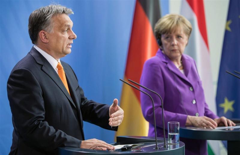 Orban: vluchtelingen zijn Duits probleem