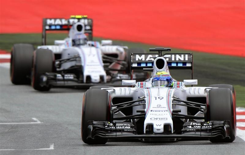 Bottas en Massa blijven bij Williams