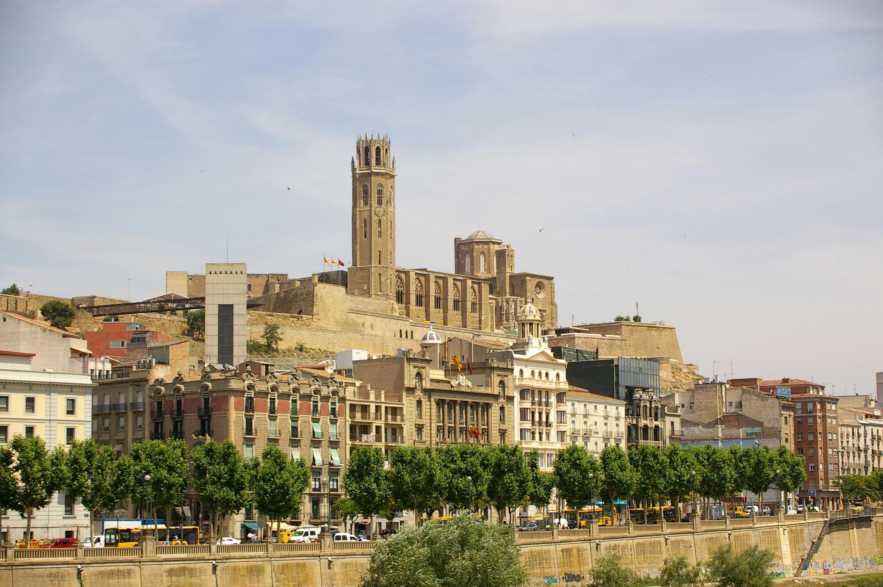 Het Catalaanse eindpunt van de etappe, Lleida (Foto: WikiCommons)