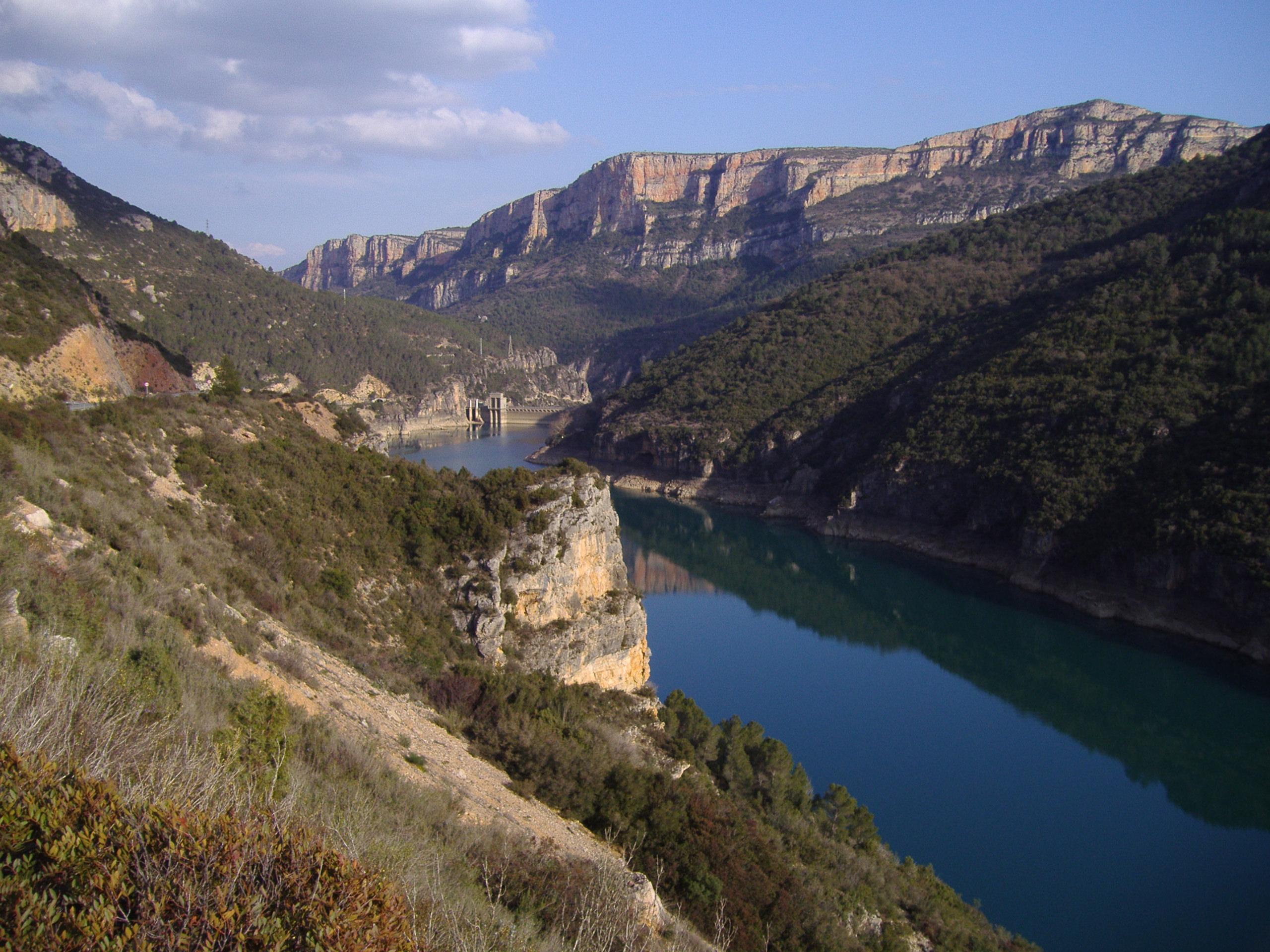 De schitterende omgeving rond Camarasa (Foto: WikiCommons)