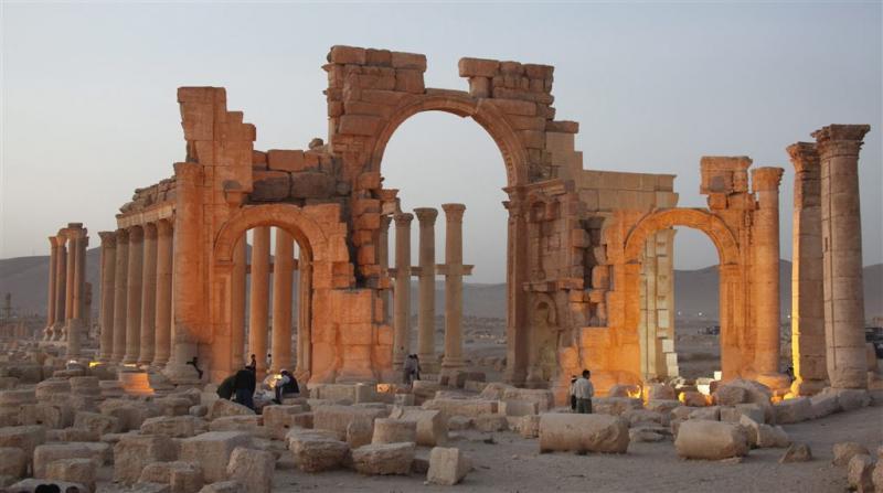 'IS vernietigt met tempels bewijs plundering'