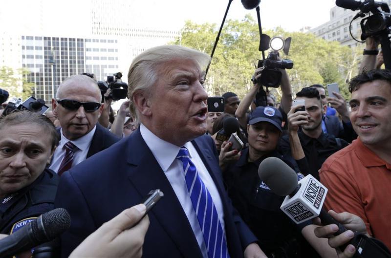Trump alleen als Republikein in verkiezingen