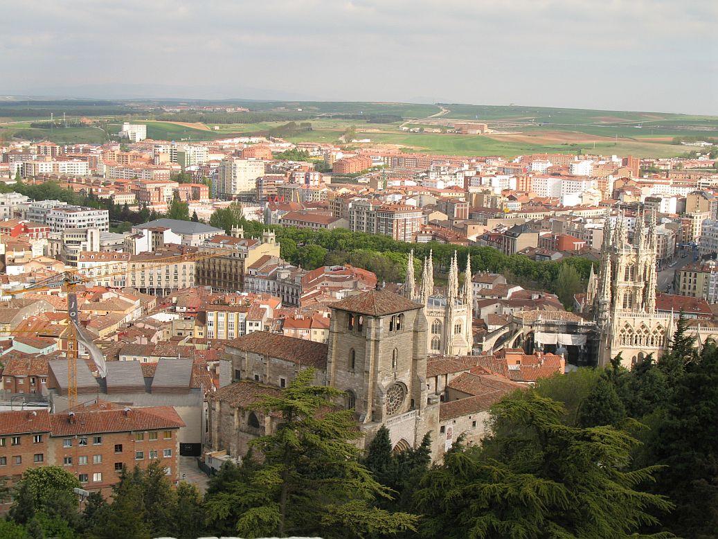 Het centrum van de tijdrit, Burgos (Foto: WikiCommons)