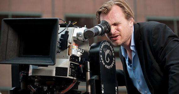 Nolan op de set van Interstellar (Foto: ScreenRant)