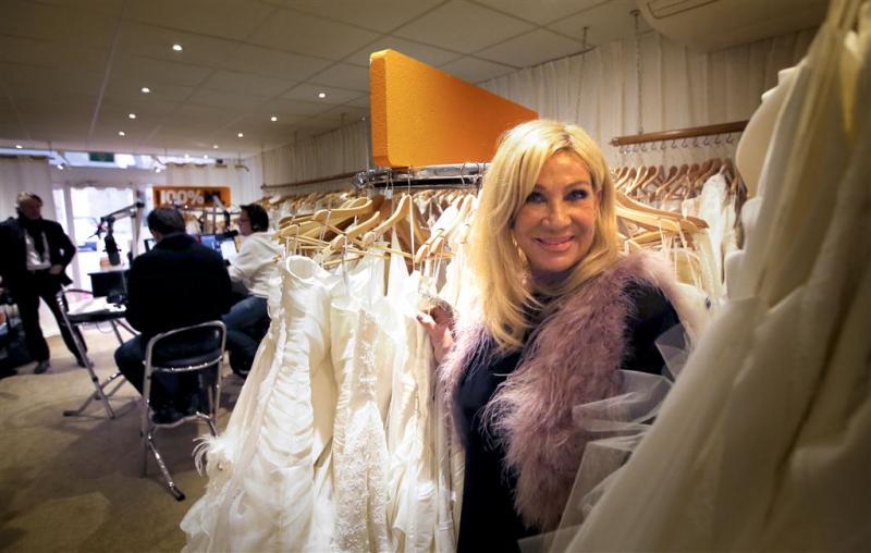 Mary Borsato maakt trouwjurk voor film Fataal