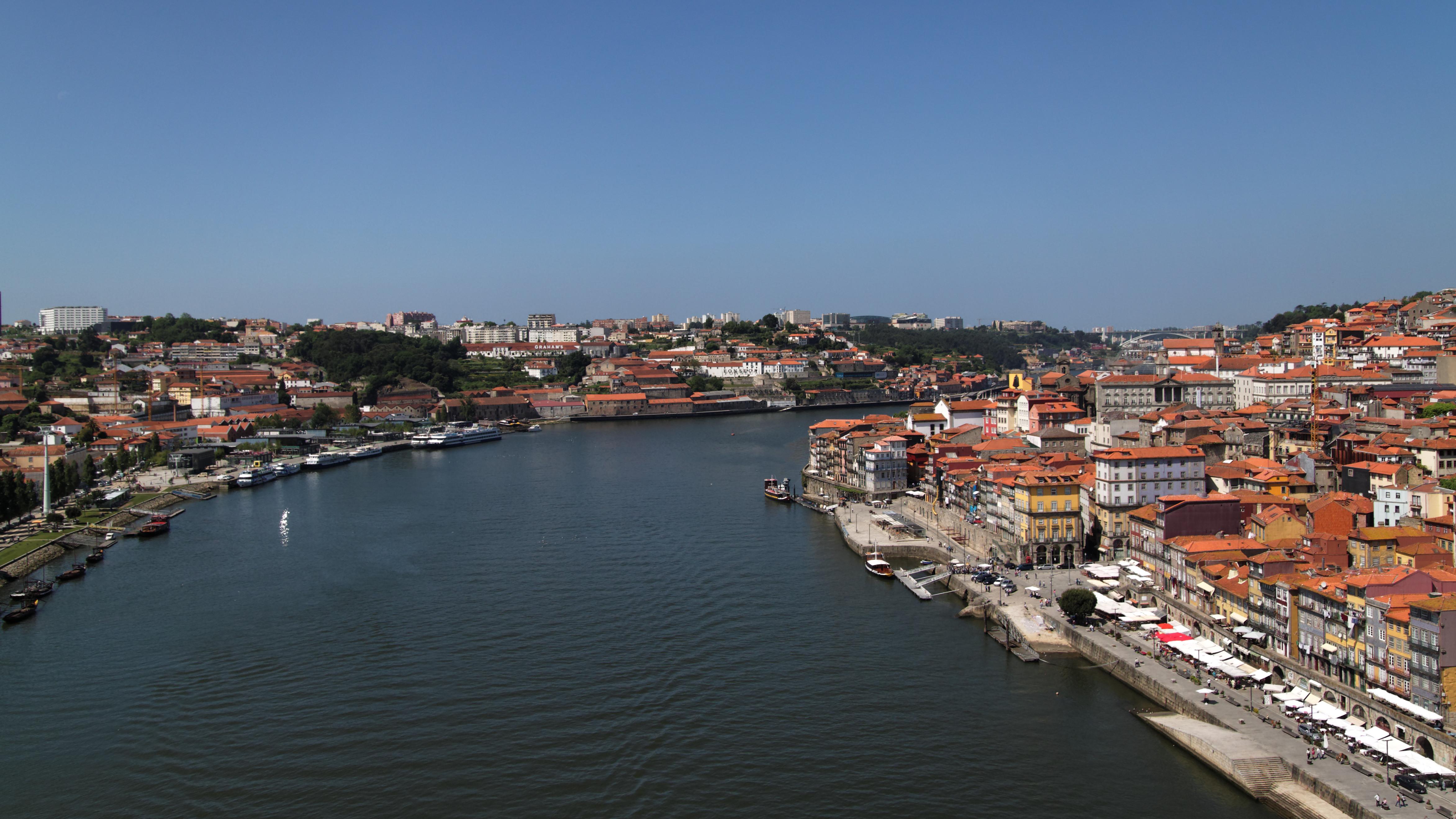 Rio Duero, het laatste vlakke stuk (Foto: WikiCommons)