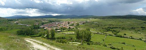 Galve de Sorbe, halverwege de klim (Foto: WikiCommons)