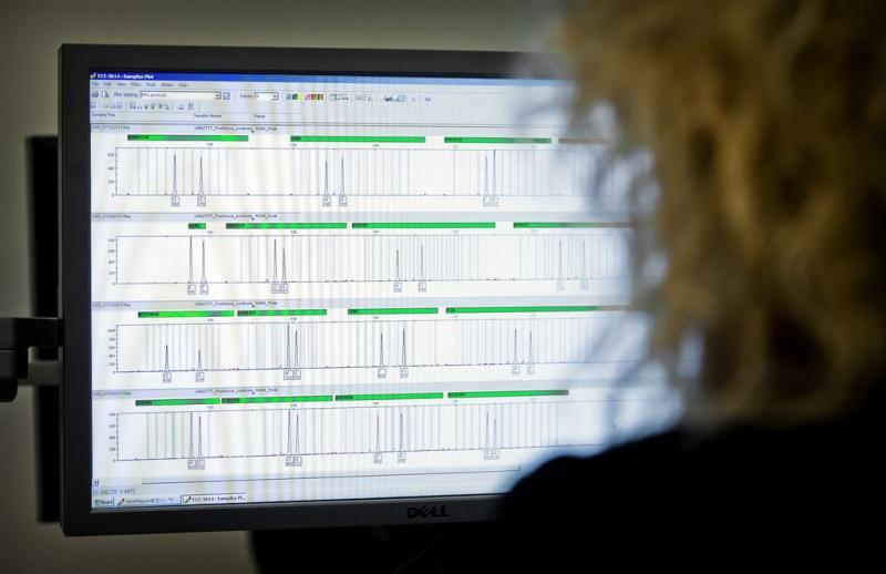 50.000e verdachte gevonden via DNA-databank