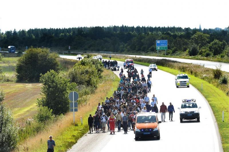 Denemarken worstelt met vluchtelingenstroom