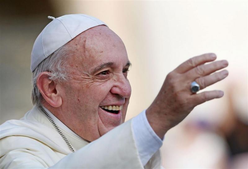 Amerikanen tuk op ontmoeting met paus