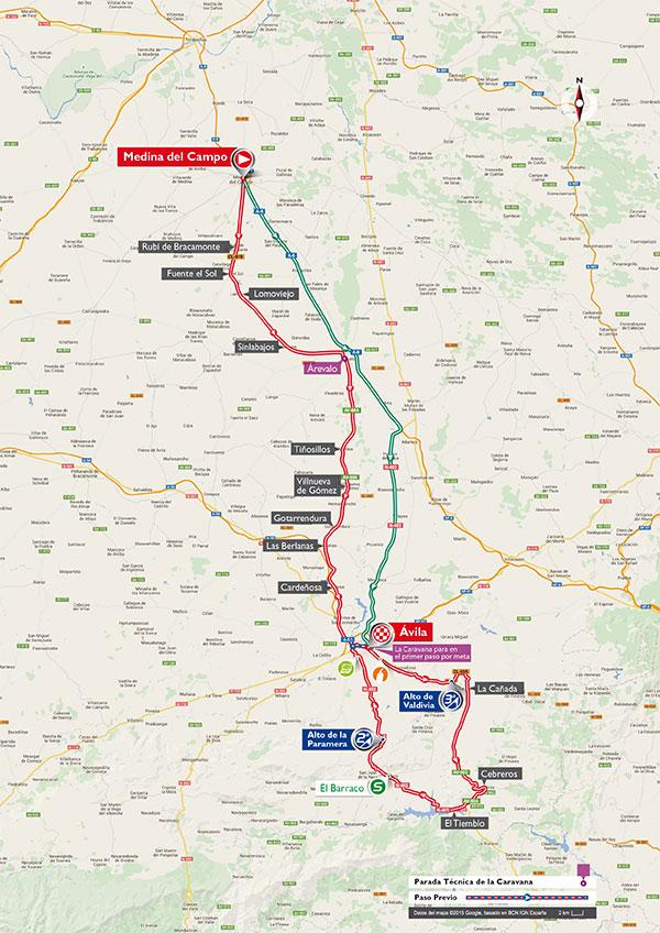 De gestrekte route van etappe 19 (Afbeelding: letour.fr)