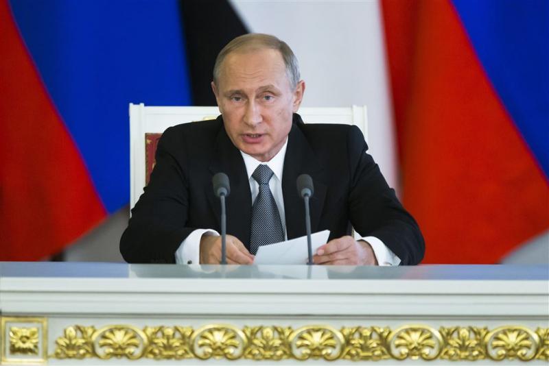 Rusland bouwt basis bij grens Oekraïne