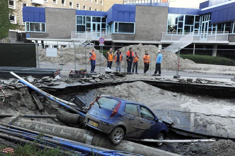 'Geen werkzaamheden aan waterleiding VUmc'