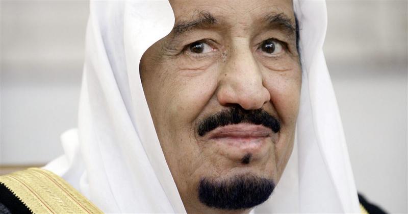 Koning Salman bezoekt rampplek Mekka