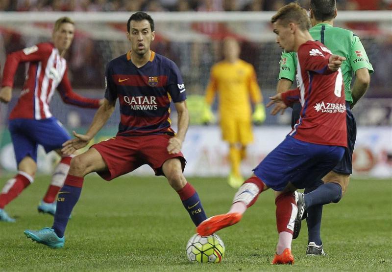 Barcelona neemt de leiding in Spanje