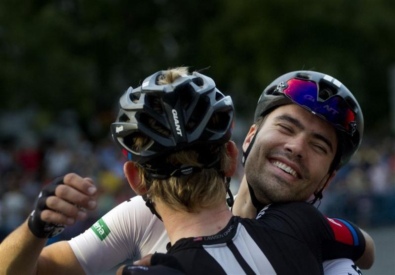 Dumoulin sluit Vuelta alsnog met glimlach af